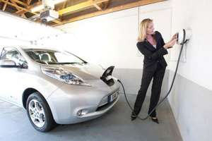 Electric vehicle charging socket installed at your house for free.