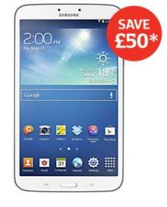 "Samsung Galaxy Tab 3 16GB 8"" Wi-Fi Tablet £149 at Sainsbury's with code"