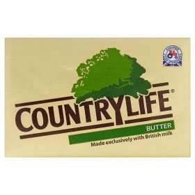 Country Life butter salted & unsalted 250g £1 @ Asda