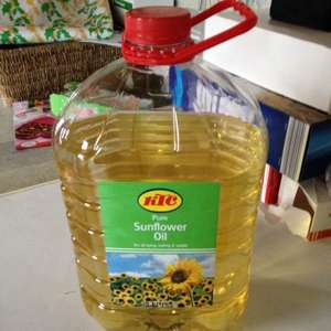 KTC 5 litre sunflower oil bottle. £3 each At Morrisons  discount store. Preston Deepdale