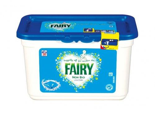 FAIRY Non Bio Liquitabs (20 pack) £3.99 @lidl
