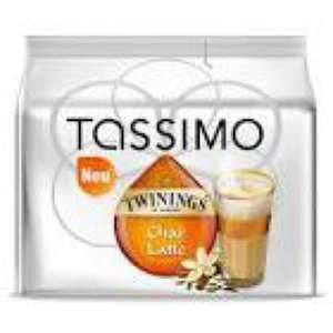 Tassimo chai latte £2.24 reduced to clear at Tesco
