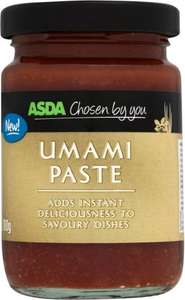 Asda Umami paste....100g jar.....50p (was £2.27).....not to be confused with oovavoo or eranoo