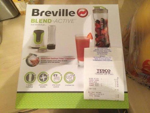 Breville Blend Active @ TESCO scanning at £14.50