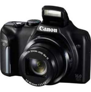 Canon PowerShot SX170 16MP 16x Zoom Compact Digital Camera Was £179.99 Now £89.99 @ Argos