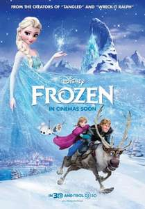 Watch Disney`s Frozen movie @ Empire cinema`s £1.25 per person! This Weekend 15th & 16th March