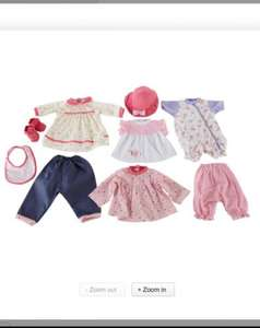 Argos Chad Valley dolls clothing set £6.99