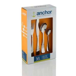 Viners' Anchor Hocking cutlery 16 piece set from just £8.99 (+p&p) @ Viners + 10.5% potential cashback @ TCB