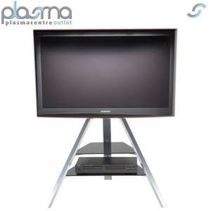 Super slim led 3d tv stand .. For all those minimalists out there £74.99 @ eBay /  plasmacentre_outlet