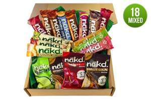 Nakd celebration box only £10.40 delivered @ NATURAL BALANCE FOODS
