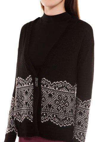Lace Detail Jacket (black or white) - £4.99 delivered @ Bershka