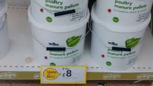 Wilko poultry manure pellets 2 x 7kg tub's £8 instore or C&C with 4.2% TCB