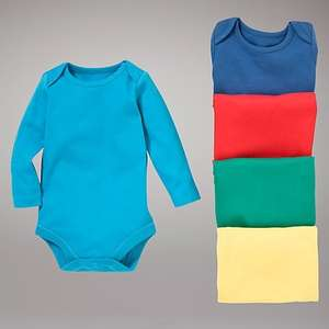 John Lewis Baby Bright Bodysuits, Pack of 5, Multi, £3.98 @ John Lewis( C&C)