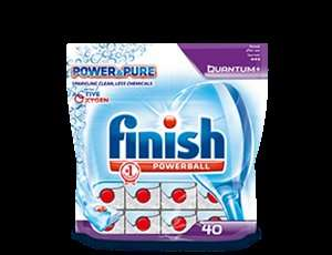Finish Power & Pure Quantum dishwasher tabs - Free Sample