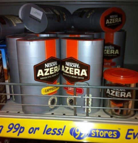 Nescafé Azera barista style coffee- 60g £0.99 @ 99p store