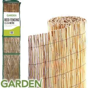 Garden Reed Fencing: 1.5 x 4M (13 feet x 5 feet) £4.99 at home bargains