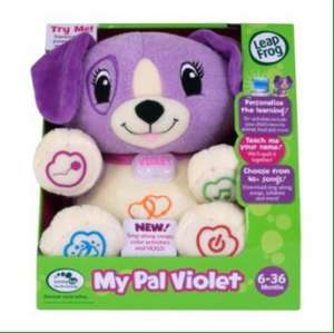 LeapFrog My Puppy Pal Violet £10.41 delivered from amazon