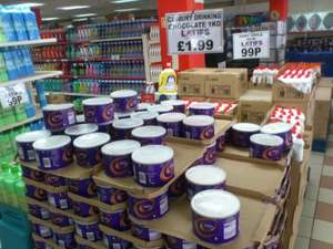 Cadbury Drinking Chocolate - 1kg tin - £1.99 @ Latifs
