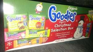 Organix Goodies selection box 50p @ Tesco instore