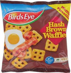 Birds Eye Hash Brown Waffles 459G £1.00 & Birds Eye 10 Potato Waffles 567G @ Tesco & Morrisons