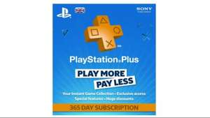 365 day PS plus from CD Keys for £29.99 (after 5% fb discount)