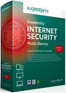 Kaspersky Internet Security 2014 Multi Device - 5 User 1 Year £24.99 @ Amazon