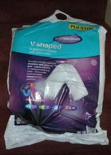 Slumberdown V Shaped Pillow - £5.99 Aldi
