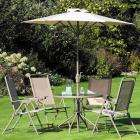 Garden Furniture Deal : Rome Glass Table: £8 / 4 Rome Chairs: £15.81 -  £27.76 delivered for the set!