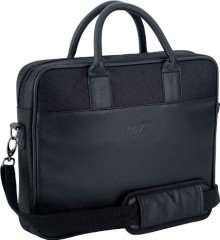 James Bond 007 Faux Leather Netbook Laptop Bag Black £9.99 at The Fashion Hut