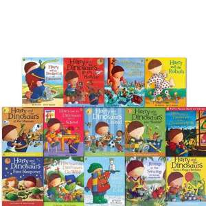 Harry and the Dinosaurs Story Collection 14 Books Set £21.99 Delivered Amazon (sold by Pearls Books)