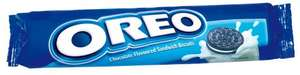 Oreo Cookies Vanilla/Double Stuff 154g only 54p and Oreo Double Stuff 185g only 74p @Morrisons