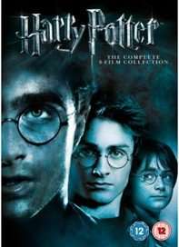 Harry Potter - The Complete 8-Film Collection (DVD) £16 Delivered @ Sainsburys Entertainment