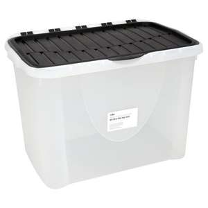 60L flip lid storage box £4 each instore at ASDA