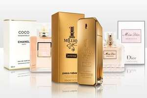Mystery Fragrance for £9.98 or £19.98, Such as Chanel Coco Mademoiselle For Her 100ml at Groupon UK
