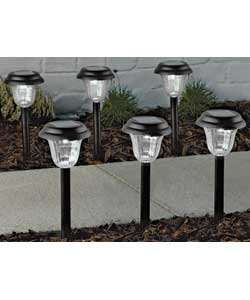 6 Solar lights - down from £9.99 to £3.99 at argos