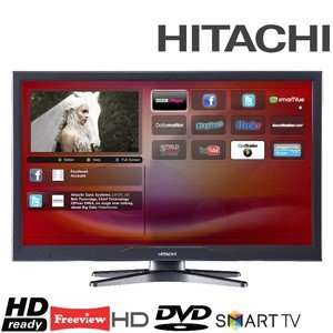 Hitachi 24 inch LED Smart tv with inbuilt dvd player £115 (instore) £125 Delivery at the moment  X Display @ Electronic Empire