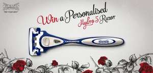 Free Personalised Wilkinson Sword Razor