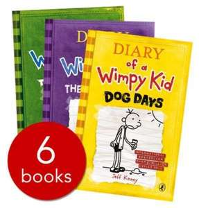 £7.99 Diary of a Wimpy Kid Collection - 6 books @ The Book People