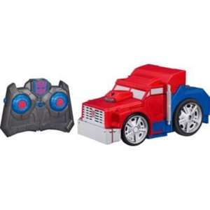 Transformers remote controlled Optimus Prime and Bumblebee £9.99@ Argos