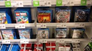 Various PS Vita Games £10 or Under - Instore ASDA - Possibly national