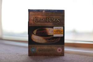 Lord Of The Rings Blu-Ray Extended Edition 15 - Disc Set @ HMV Only £19.99!!!!!