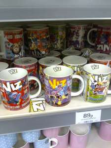 Viz mugs 89p in home bargains