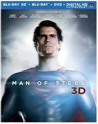 Man of Steel 3d Blu ray for £10 @ Amazon/ DVD for £6.50/Blu -ray for £8.50/Steelbook for £15.50 @ Amazon