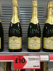 Morrisons Champagne For £10! Champagne Leon Launois NV Brut