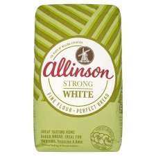 Allinson Strong White Flour 3kg for £1.80 at Tesco