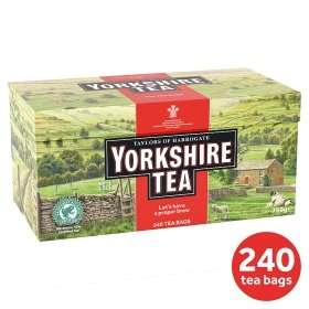 240 Yorkshire Teabags £3.00 @ Asda