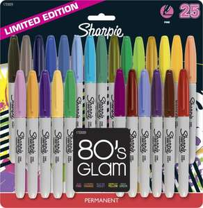 Sharpie 80's Glam Fine Point Permanent Markers - Pack of 24 - £10.07 @ PostOfficeShop