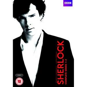 Sherlock Series 1 to 3 £17.99 DVDGold +5% TCB (10% Cheaper than next best Amazon)