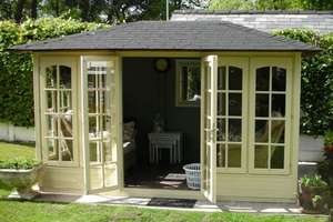 Valiant™ 350 Summerhouse £1316.99 was £4253.99 @ Dunster house