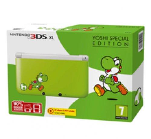 Nintendo 3DS XL Yoshi Special Edition + 4GB CARD - Pre-Order 14th March £179.84 @ Shopto